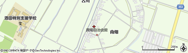 山形県酒田市藤塚南畑16周辺の地図