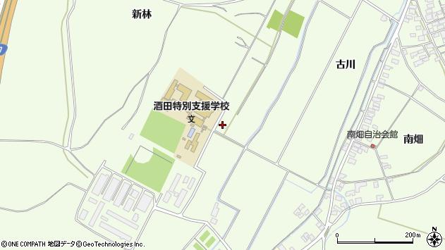 山形県酒田市宮海新林267周辺の地図