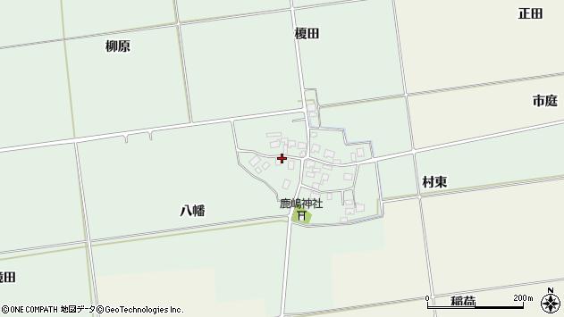 山形県酒田市保岡八幡50周辺の地図