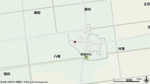 山形県酒田市保岡八幡51周辺の地図