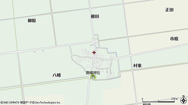 山形県酒田市保岡八幡96周辺の地図