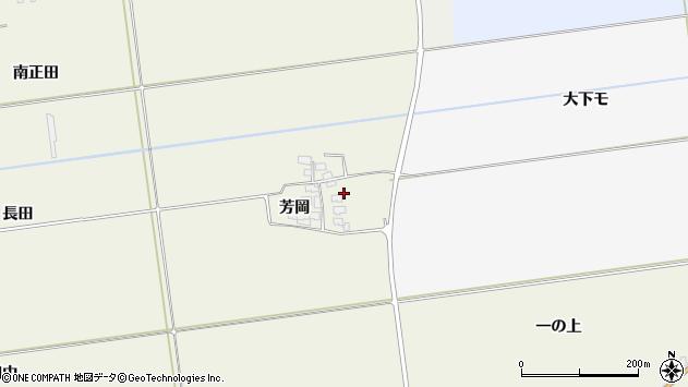 山形県酒田市安田芳岡18周辺の地図