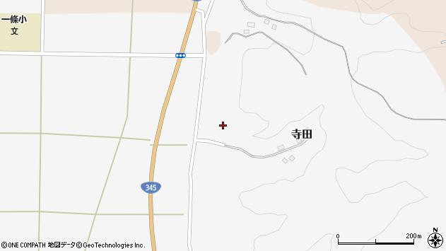山形県酒田市寺田道ノ上100周辺の地図