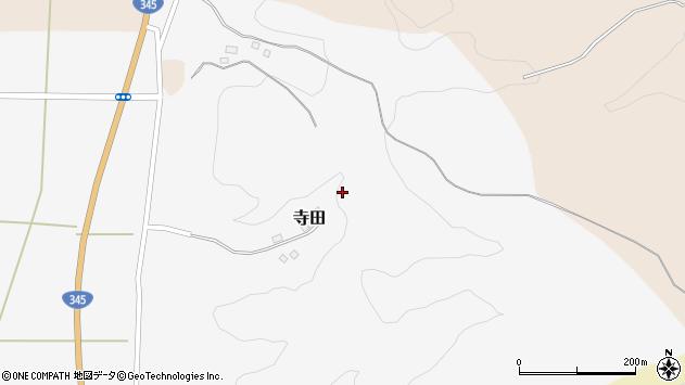 山形県酒田市寺田道ノ上90周辺の地図