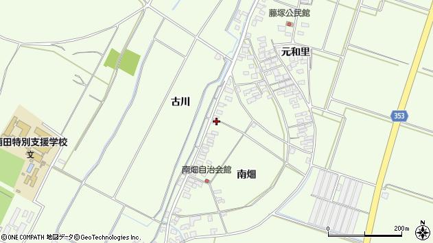 山形県酒田市藤塚南畑4周辺の地図
