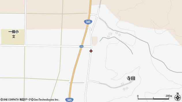 山形県酒田市寺田横枕112周辺の地図