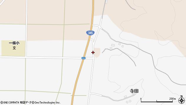 山形県酒田市寺田横枕周辺の地図
