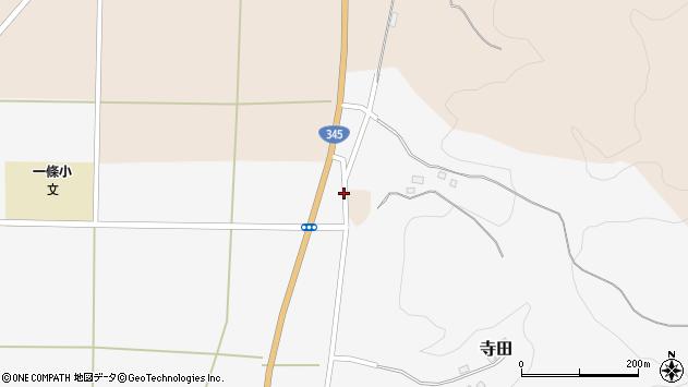 山形県酒田市寺田横枕105周辺の地図