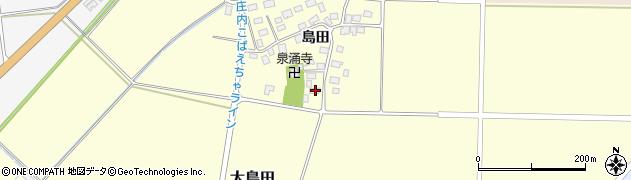 山形県酒田市大島田島田93周辺の地図