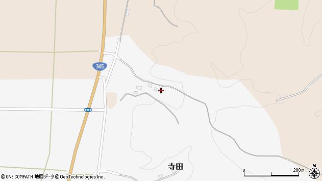 山形県酒田市寺田道ノ上46周辺の地図