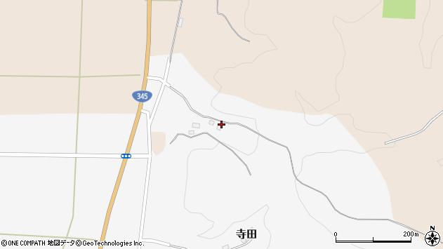 山形県酒田市寺田道ノ上47周辺の地図