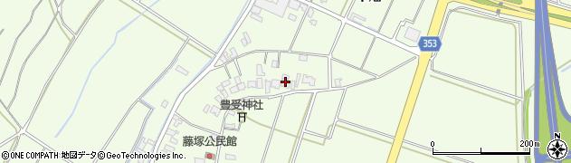 山形県酒田市藤塚元和里3周辺の地図