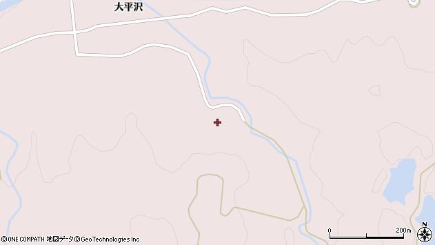 山形県酒田市下青沢大平沢200周辺の地図