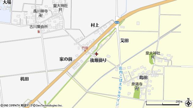 山形県酒田市大島田艾田81周辺の地図