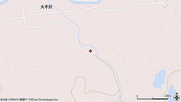 山形県酒田市下青沢大平沢199周辺の地図