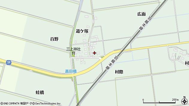 山形県酒田市保岡村際30周辺の地図