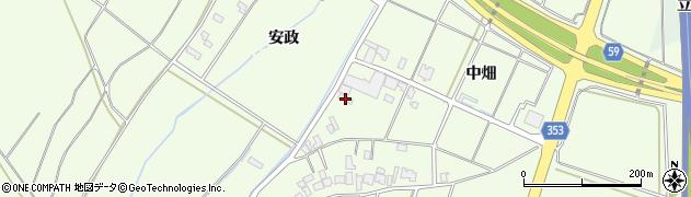 山形県酒田市藤塚中畑205周辺の地図