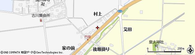 山形県酒田市刈穂村上99周辺の地図