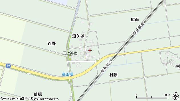 山形県酒田市保岡村際48周辺の地図