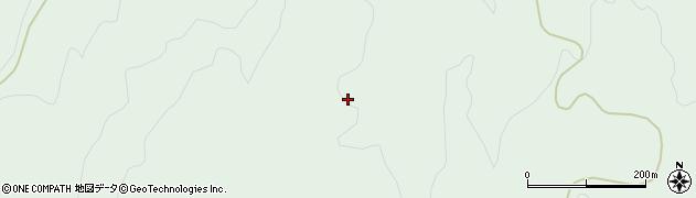 山形県酒田市上青沢菅谷地周辺の地図