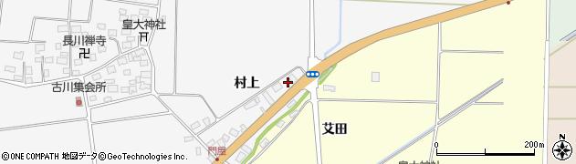 山形県酒田市刈穂村上78周辺の地図
