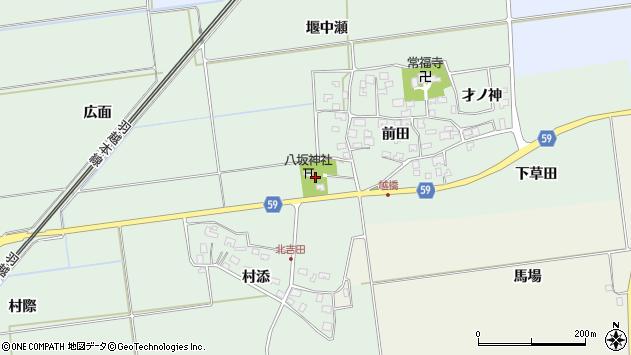 山形県酒田市保岡前田79周辺の地図