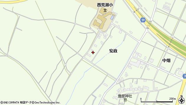 山形県酒田市宮海安政247周辺の地図