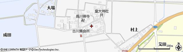 山形県酒田市刈穂古川59周辺の地図