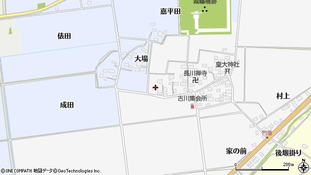 山形県酒田市刈穂古川115周辺の地図