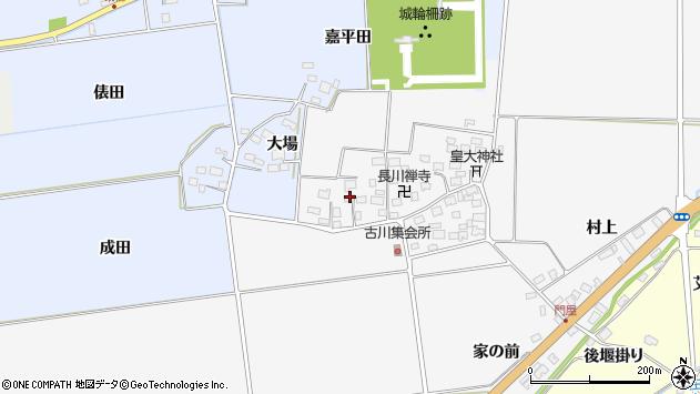 山形県酒田市刈穂古川96周辺の地図