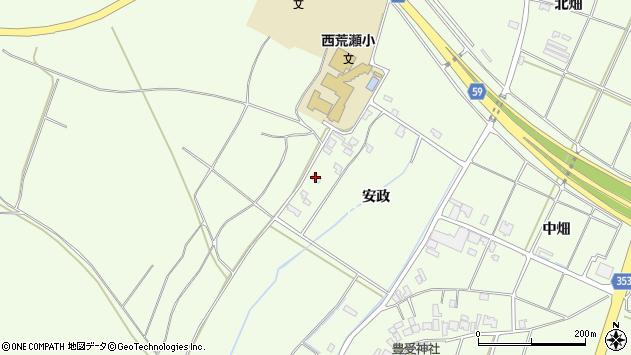 山形県酒田市宮海安政243周辺の地図