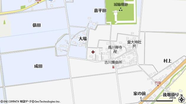 山形県酒田市刈穂古川112周辺の地図