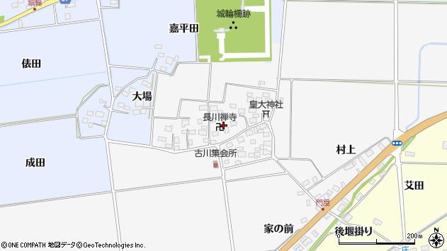 山形県酒田市刈穂古川67周辺の地図
