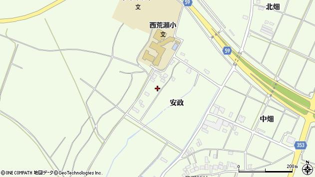 山形県酒田市宮海安政241周辺の地図