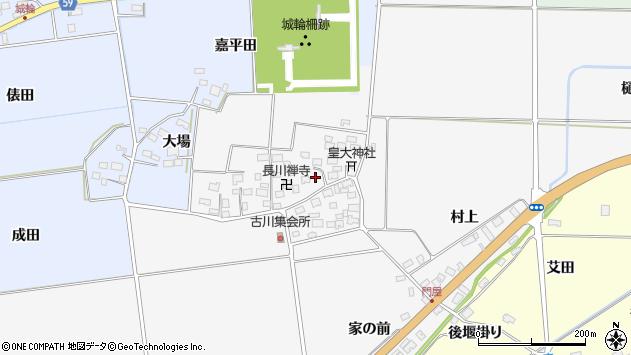 山形県酒田市刈穂古川65周辺の地図