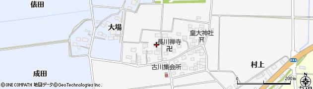 山形県酒田市刈穂古川93周辺の地図