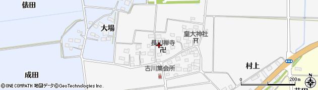 山形県酒田市刈穂古川70周辺の地図