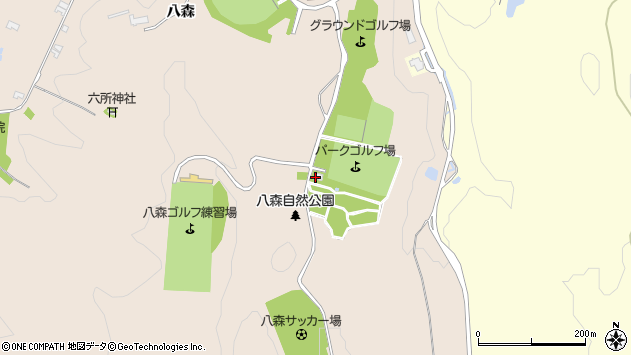 山形県酒田市市条八森921周辺の地図