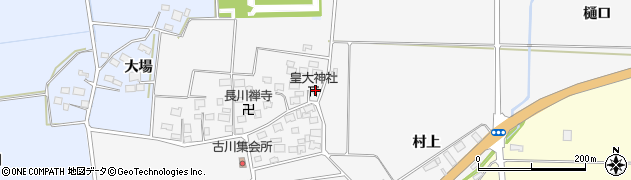 山形県酒田市刈穂古川45周辺の地図