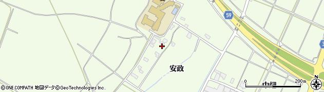 山形県酒田市宮海安政238周辺の地図