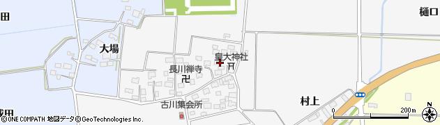 山形県酒田市刈穂古川63周辺の地図