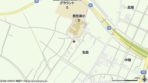山形県酒田市宮海安政240周辺の地図