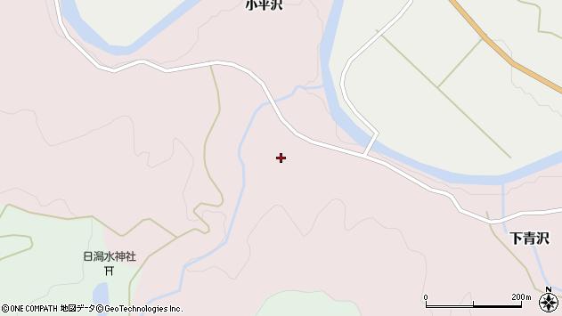 山形県酒田市下青沢日潟204周辺の地図