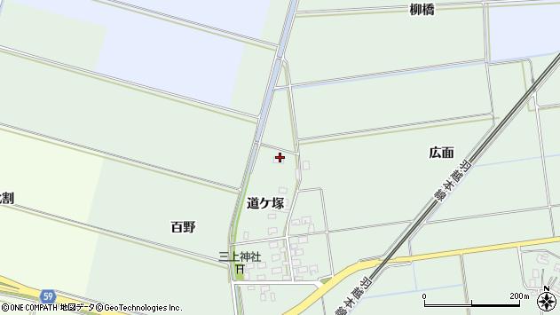 山形県酒田市保岡道ケ塚10周辺の地図