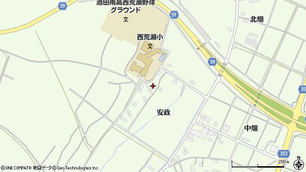 山形県酒田市宮海安政236周辺の地図