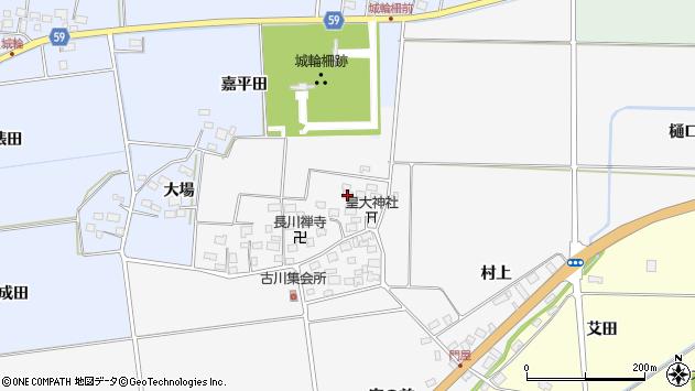 山形県酒田市刈穂古川41周辺の地図