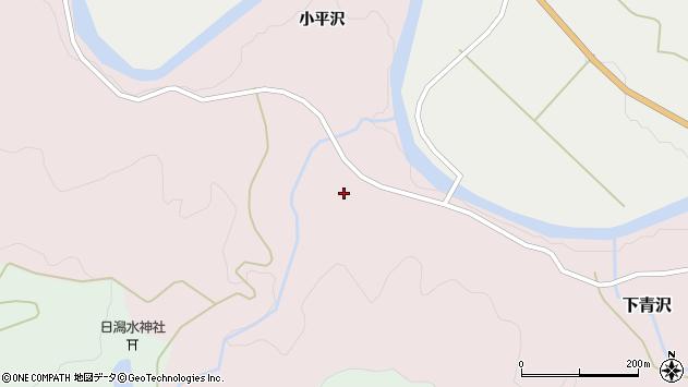 山形県酒田市下青沢日潟208周辺の地図