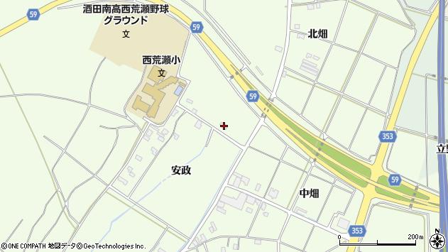 山形県酒田市宮海安政90周辺の地図