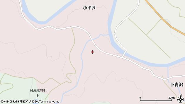 山形県酒田市下青沢日潟224周辺の地図