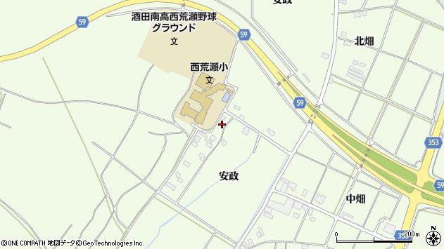 山形県酒田市宮海安政232周辺の地図